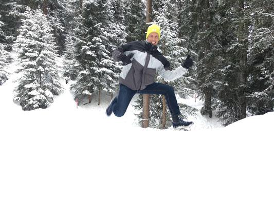 Winter Wonderland in Arosa, 1.1.2018