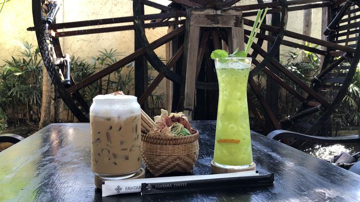 Kafi und Eisteepause in der Altstadt von Chiang Mai