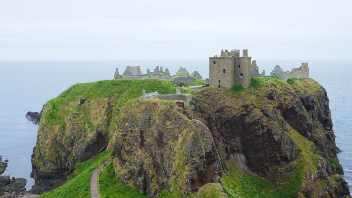 Das schöne Dunnottar Castle, gleich nebenan