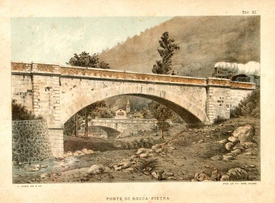 Ponte della ferrovia a Roccapietra