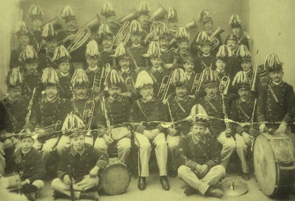 La banda musicale 1907