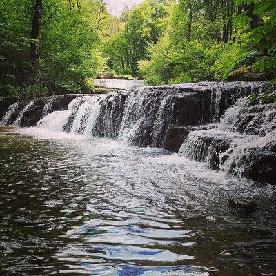 instagram, petit tour dans le Jura, on en profite pour parcourir les cascades du hérisson