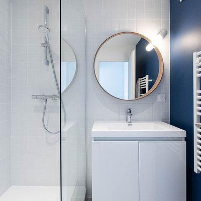 instagram, une salle de bain contemporaine, petite surface, maxi aménagement