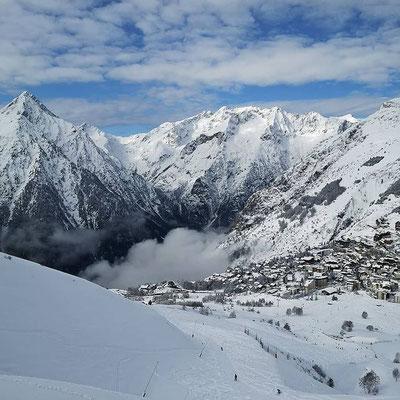 instagram, montagnes enneigées, ski aux 2 Alpes