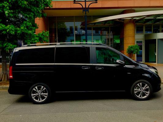 Mercedes V-Klasse, Roadshow, Limousinenservice, Chauffeurservice