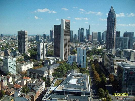 Frankfurt am Main, Skyline, Flughafentransfer, Airport-Transfer