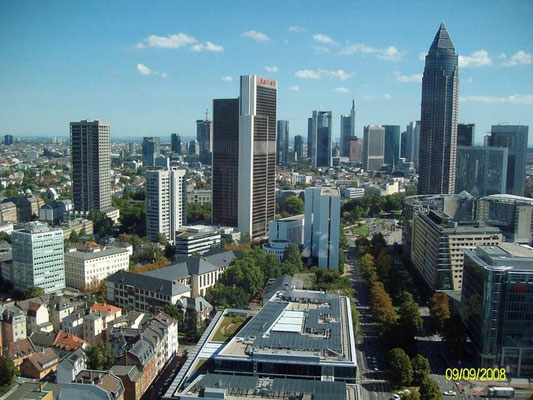 Frankfurt am Main, Skyline, Flughafentransfer, Airport-Transfer