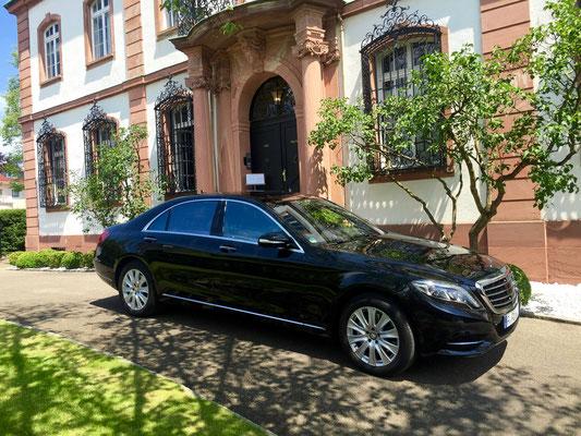 Mercedes S-Klasse, Roadshow, Limousinenservice, Chauffeurservice