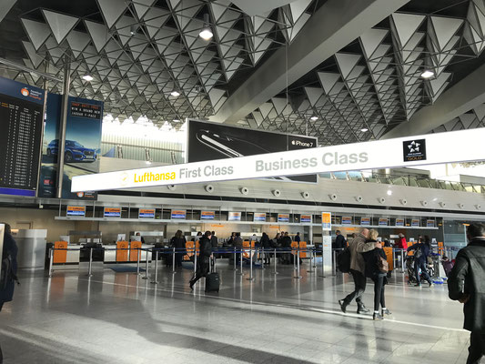 Bild: H. Seifert - Airport Frankfurt, Terminal 1, Airport-Transfer, Airporttransfer, Lufthansa, Limousinenservice, Transfer, Chauffeurservice, Business-Van