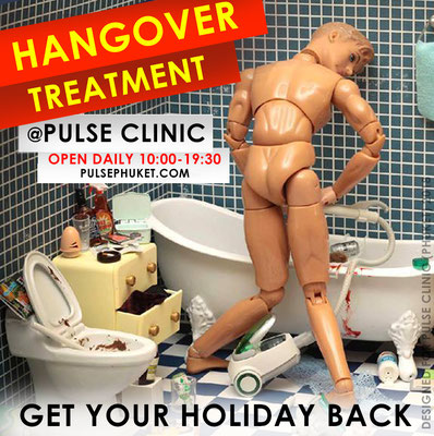 HANGOVER TREATMENT PHUKET