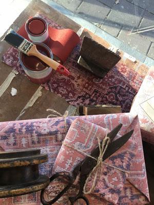 Retailstyling: Styling etalage Sanders verf & behang Emmen