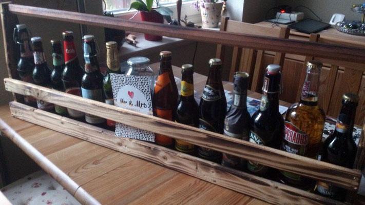 Biermeter zum Junggesellenabschied als Geschenk mit vielen Biersorten - Kundenbild aus Lüneburg