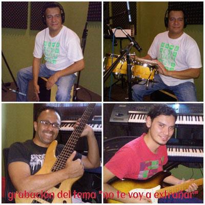 Carlos Franco, Carlos Veliz y Julio Valle