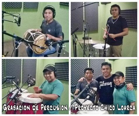 Rigo Tambora, Gabriel Chis Congas, Alex Cermeño Guira