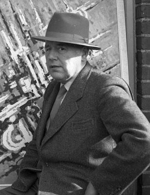 Maler und Lehrer Franz Homoet