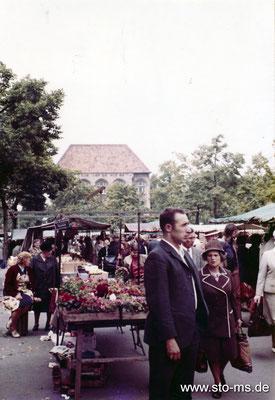 Marktszene 1970er Jahre