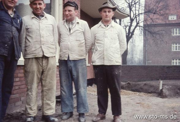 Erweiterungsbau Germania-Brauerei Ende 1950er Jahre