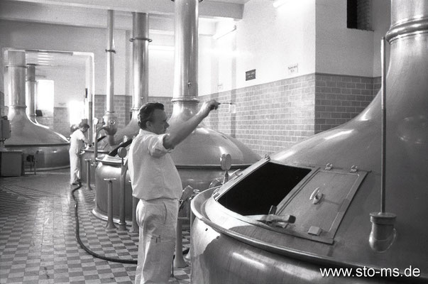 Siedekessel Germania Brauerei um 1975