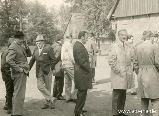 Ausflug der Führungsriege der Germania-Brauerei Ende 1960er Jahre