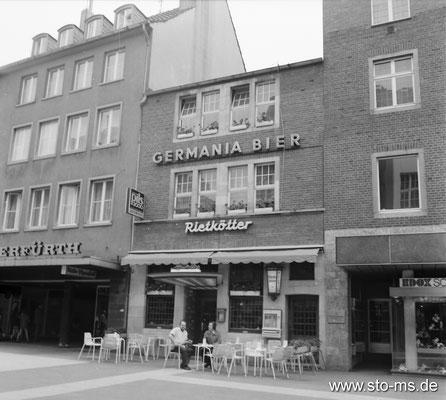 Gaststätte Rietkötter in der Ludgeristraße
