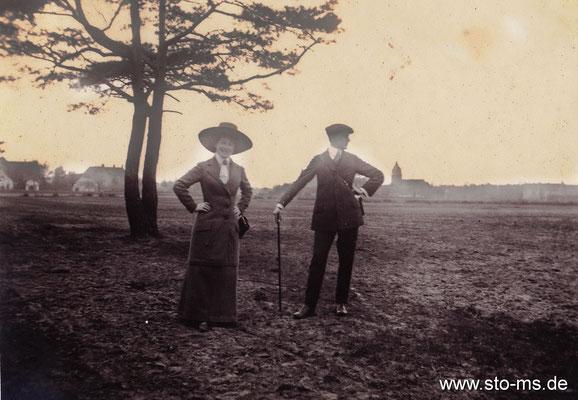 Spaziergang nach Kinderhaus um 1912