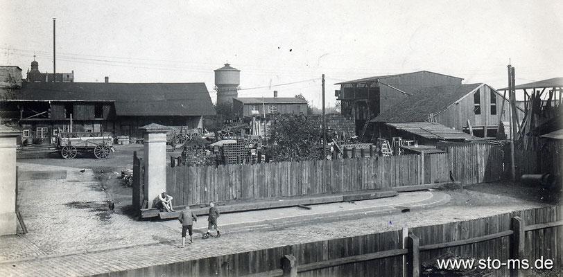 Fußball um Südviertel um 1910