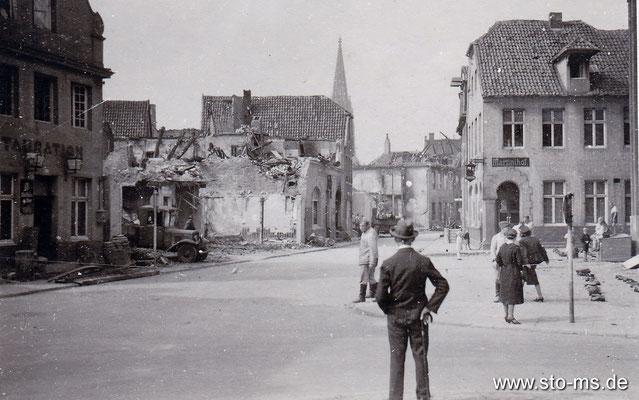 1943: Hörsterstraße am Martini-Hof