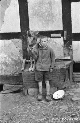 Auf dem Lande um 1940