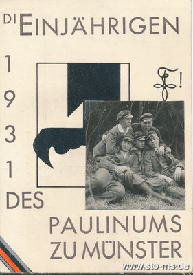 Paulinum Einjährige 1931