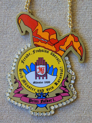 Orden Prinz Folker I. 1989 (2), 061635 feb 09