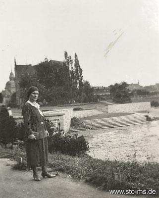 Am Aasee um 1940