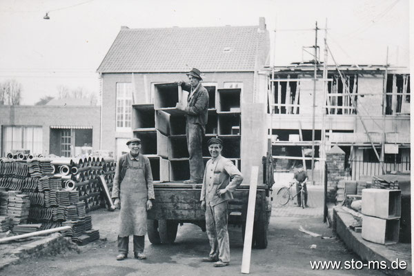 Heizungsinstallateure um 1950