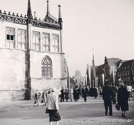 Domplatz um 1955