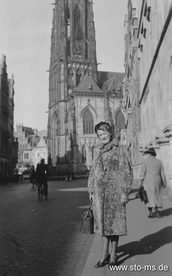 Auf dem Prinzipalmarkt um 1942