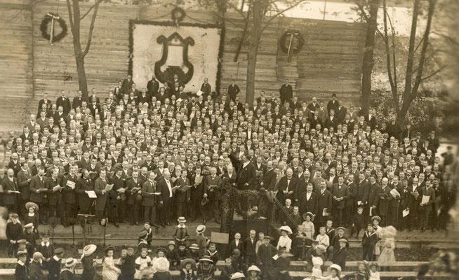 Sängerfest Schützenhof 1.10.1910