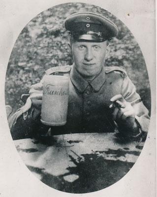 Fotograf Carl Pohlschmidt als Soldat