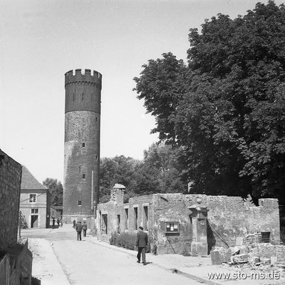Am Buddenturm 1948