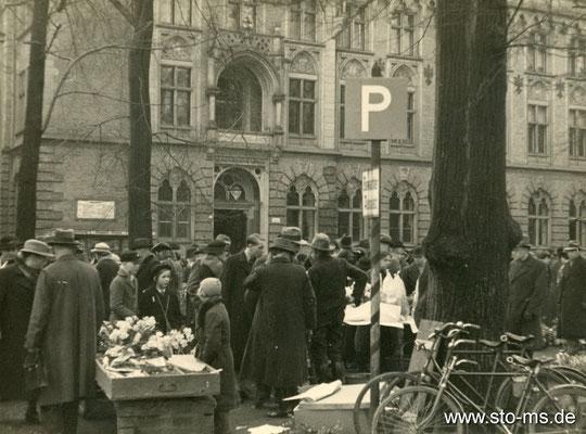 Markt am Dom 1938