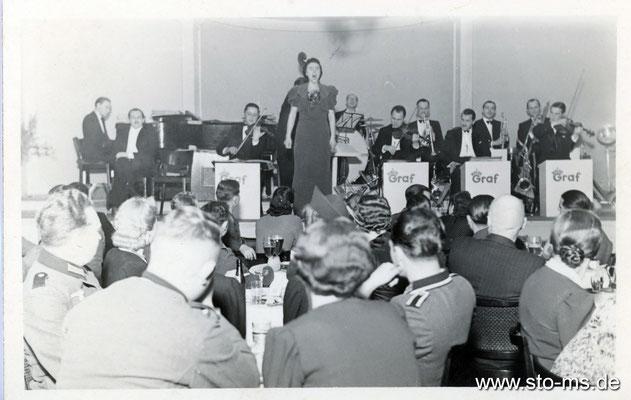 1940er Jahre - Geselliges Beisammensein im Westfälischen Hof am Servatiiplatz