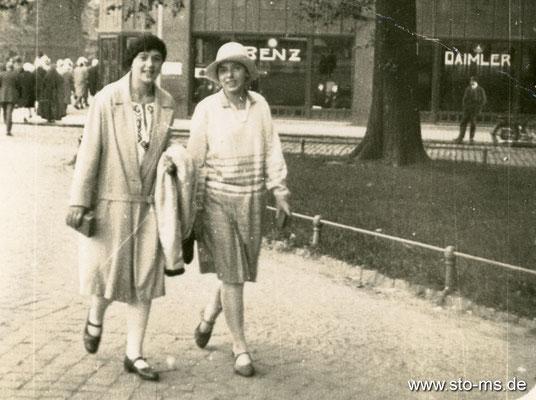 Am Servatiiplatz um 1920