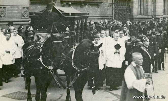 Beerdigung Anfang 1940er Jahre