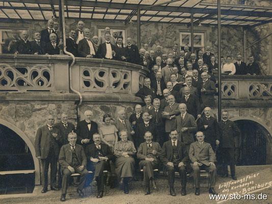 Oberbürgermeister Georg Sperlich - Boniburg Eröffnung Kurhaus 1924