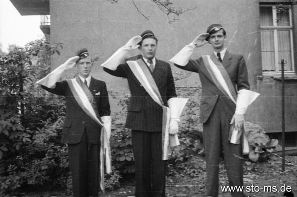 Verbindungsstudenten Ende 1930er Jahre