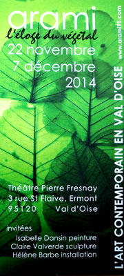 "2014 – "" Eloge du végétal "", salon ARAMI, Ermont - Roman Gorski"