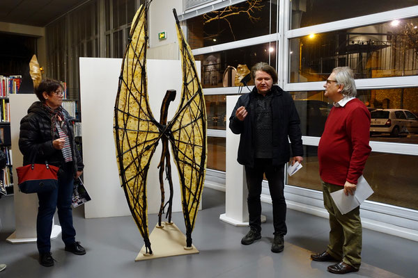 2017 – « Regards sur l'art », Bibliothèque Paul Eluard, Achères - Roman Gorski