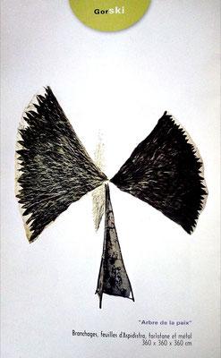 2003 - Le printemps de la sculpture, Chantilly - Roman Gorski