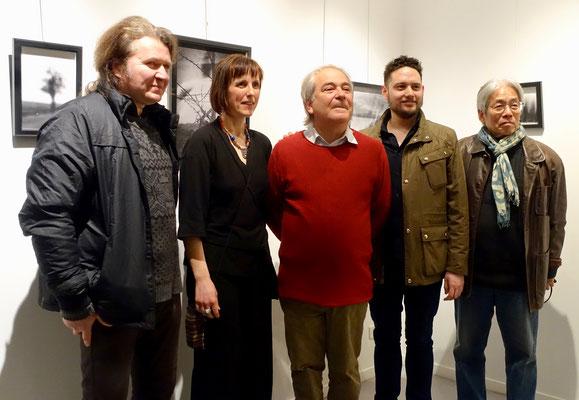 2017 – « Regards sur l'art », Bibliothèque Paul Eluard, Achères - Roman Gorski, Sophie Patry, David Vong, Toyo Shinohara
