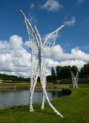 Installation Pré-papillons, Villarceaux - Roman GORSKI