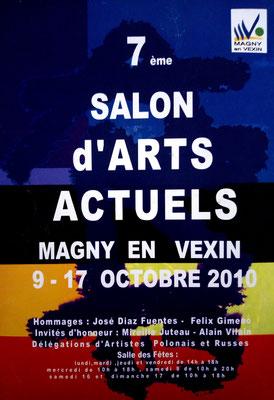2010 - 7ème salon d'art actuel, Magny-en-Vexin - Roman Gorski