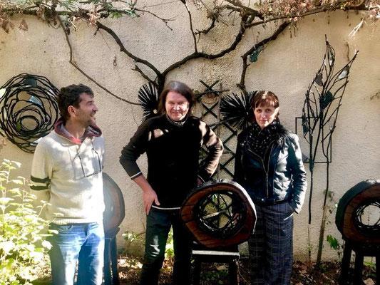 Solo atelier, Saint-Leu-la-forêt - Roman Gorski, Louis Tartarin, Sophie Patry - photo de marie Dève